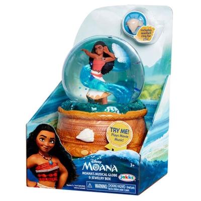 迪士尼 海洋奇緣 Moana 夢娜 音樂水晶球寶盒