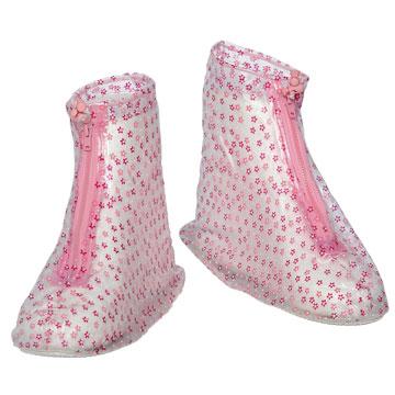FairRain飛銳 花漾時尚平底防雨鞋套 1雙入