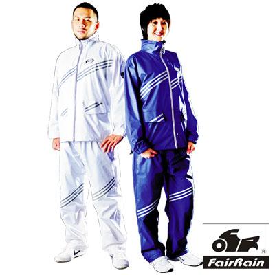 【飛銳】第二代新幹線 二件式時尚風雨衣一入組 冷銳黑L