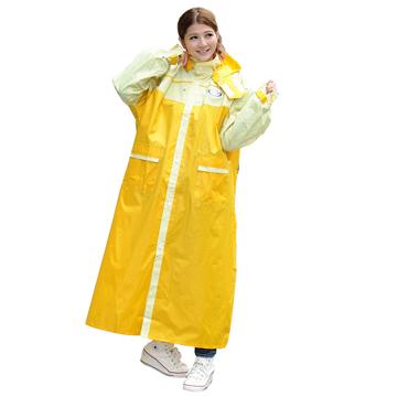 【飛銳】格格 日系風格前開式尼龍雨衣( 1入組)