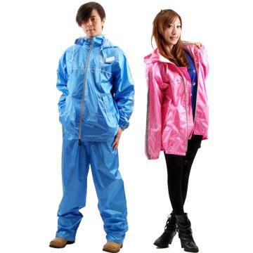 【東伸】高級尼龍 二件式休閒風雨衣