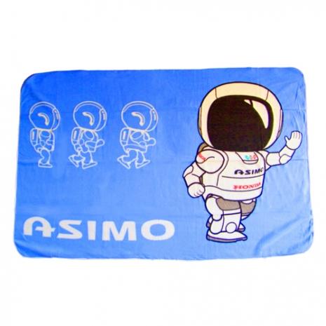 HONDA Asimo機器人珊蝴絨毛毯