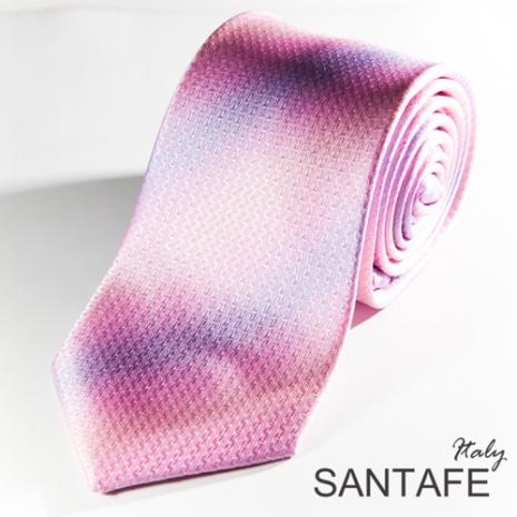 【SANTAFE】 韓國時尚粉紫漸層斜紋領帶 KT-131111