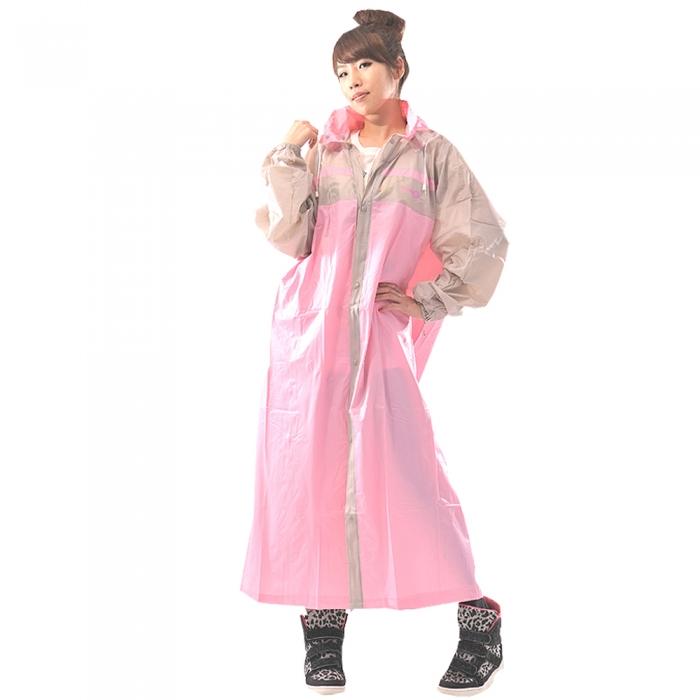 【達新牌】新一代設計家3前開式雨衣(共五色)藍3XL
