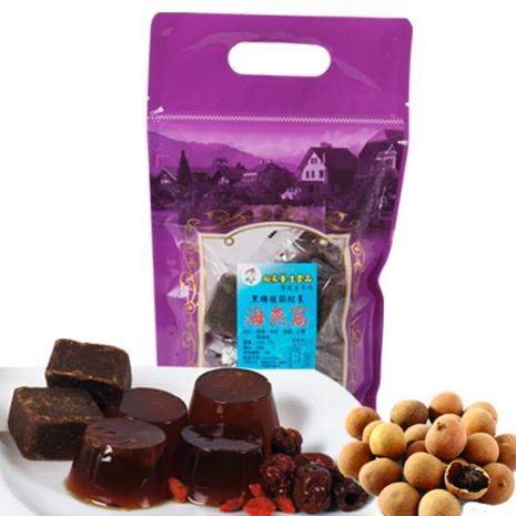 向家養生食品 頂級黑糖桂圓紅棗海燕窩 500g/1包入
