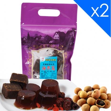 向家養生食品 頂級黑糖桂圓紅棗海燕窩 500g/包 2包入