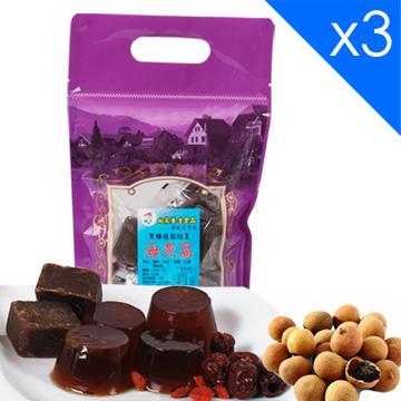 向家養生食品 頂級黑糖桂圓紅棗海燕窩 500g/包 3包入