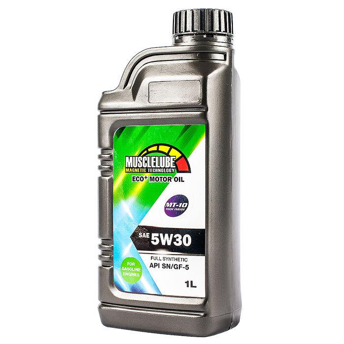 MUSCLELUBE 美國肌肉5W30全合成機油 添加MT-10 1公升/瓶
