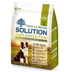 耐吉斯天然無穀食譜SOLUTION 紐西蘭鹿肉 成幼犬食譜1.36KG