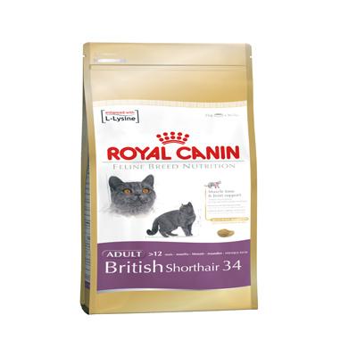 法國皇家 英國短毛貓 BS34 貓飼料 2KG 1包