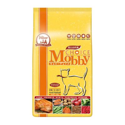 莫比Mobby《成貓化毛》貓飼料 1.5kg 1包