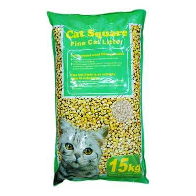 Cat Square超大型經濟包 優美松木砂 15kg x 1包