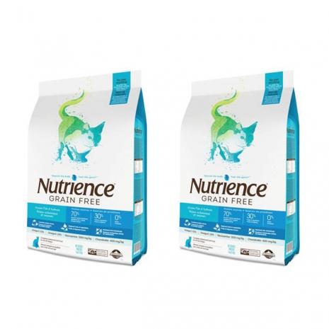 Nutrience 紐崔斯無穀養生貓-多種鮮魚 5kg x 2包