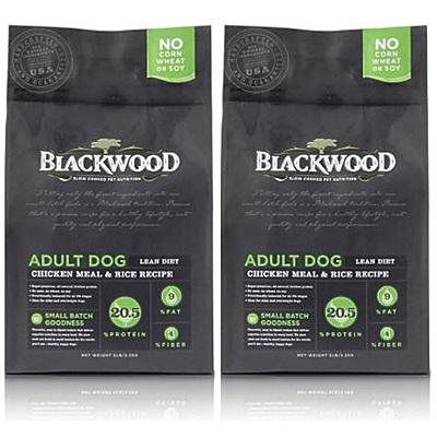 BlackWood 柏萊富 低卡保健 老犬 減肥犬 雞肉+米 5磅 2.27公斤 X 2包