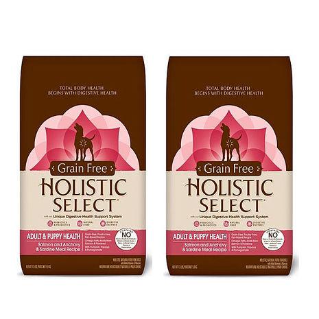 【HolisticSelect】新鷹格 活力滋 無穀成幼犬 三種魚低敏挑嘴 5磅 X 2包