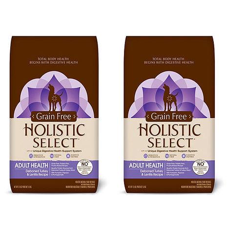 【HolisticSelect】新鷹格 活力滋 無穀成犬 頂級火雞肉低敏 5磅 X 2包