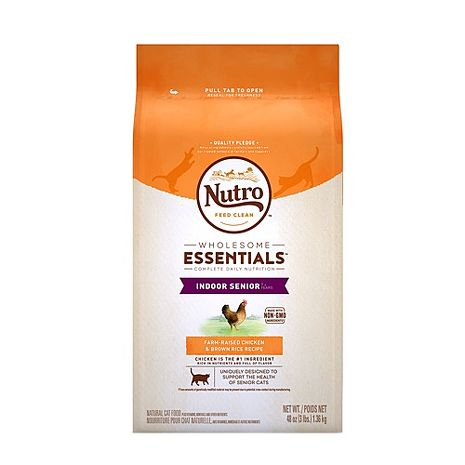 【Nutro】美士 室內貓化毛 熟齡貓專用雞肉+糙米 3磅 X 1包