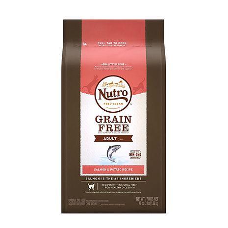 【Nutro】美士 成貓無穀低敏配方鮭魚+馬鈴薯 6.5磅 X 1包