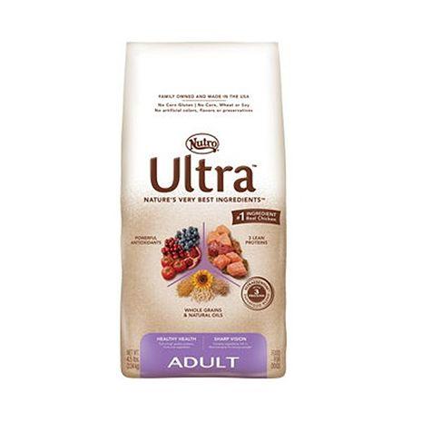 【Nutro】美士大地 成犬樂活配方 犬糧 4.5磅 X 1包