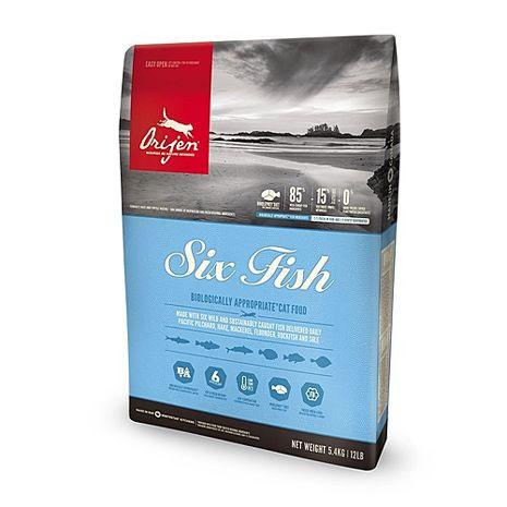 【Orijen】渴望 成貓 六種鮮魚+海藻配方 貓糧 1公斤 X 1包