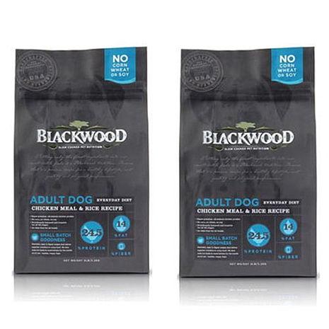 【BlackWood】柏萊富 特調成犬活力(雞肉+米) 5磅 X 2包