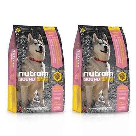 【Nutram】紐頓 均衡健康系列-S9成犬羊肉南瓜 2.72公斤 X 2包
