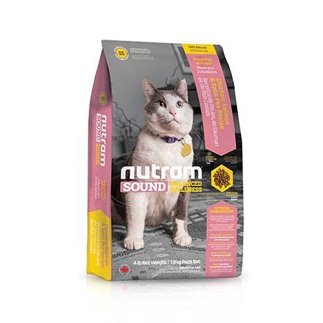 【Nutram】紐頓 均衡健康系列-S5成貓雞肉鮭魚 6.8公斤 X 1包