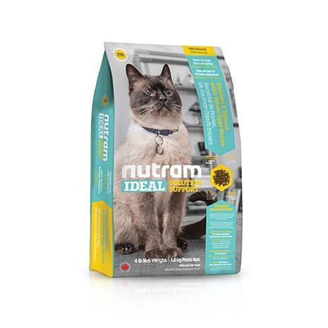【Nutram】紐頓 專業理想系列-I19三效強化貓雞肉鮭魚 6.8公斤 X 1包