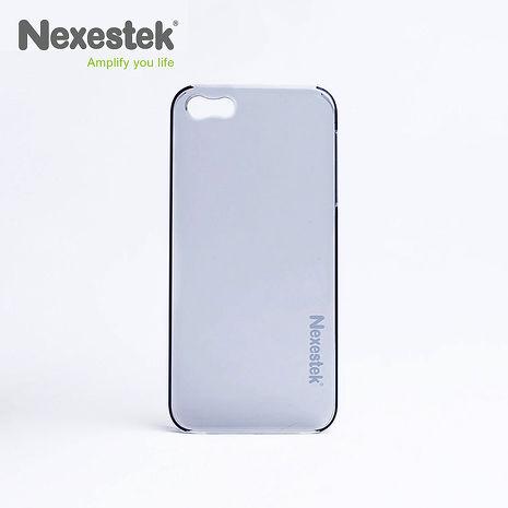 (買殼送保護貼) Nexestek iPhone 5/5S/SE透明手機保護殼 - 質感黑色-手機平板配件-myfone購物