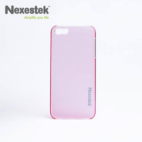 (買殼送保護貼) Nexestek iPhone 5/5S/SE 透明手機保護殼  - 粉紅色