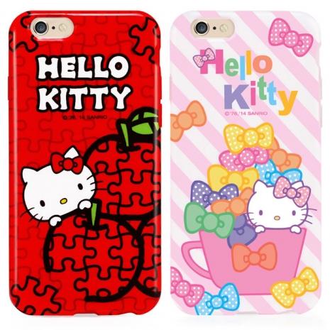GARMMA Hello Kitty iPhone 6/6S 4.7 TPU保護軟殼