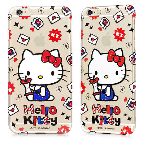 GARMMA Hello Kitty iPhone 6/6S 4.7吋保護硬殼-俏皮款