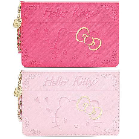 GARMMA Hello Kitty iPad mini 4摺疊式皮套–金豔款金豔桃