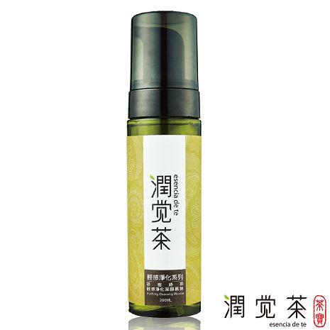【茶寶 潤覺茶】茶樹綠茶輕感淨化潔顏慕斯200ml-任選