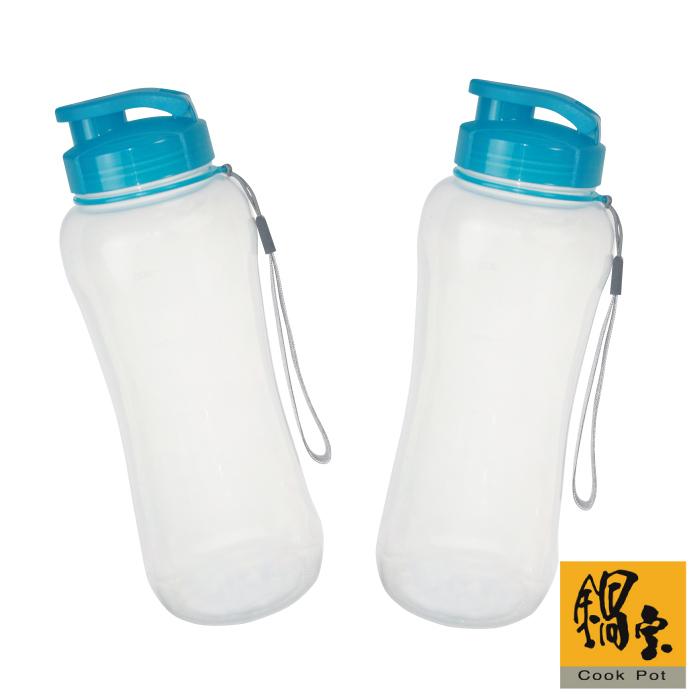 【鍋寶】輕量運動水杯700ml附掛帶2入EO-BH103700Z2