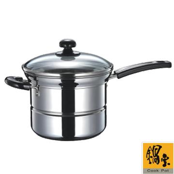 (福利品)鍋寶不鏽鋼多用途鍋-EO-SS435QXA