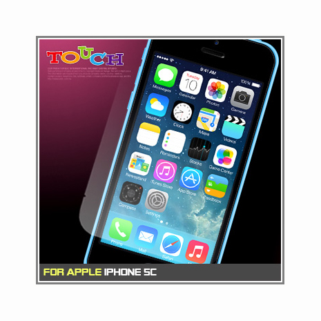 iPhone 5C專用高透防刮無痕螢幕保護貼