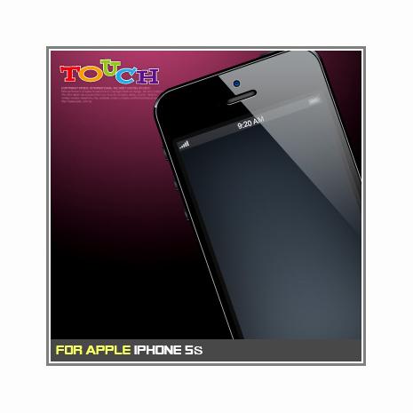 iPhone 5S專用高透防刮無痕螢幕保護貼