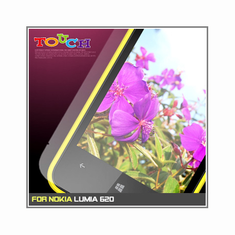 Nokia Lumia 620專用高透防刮無痕螢幕保護貼-手機平板配件-myfone購物