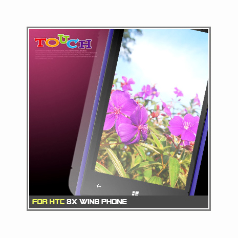 HTC 8X Win8 Phone / C620e專用高透防刮無痕螢幕保護貼