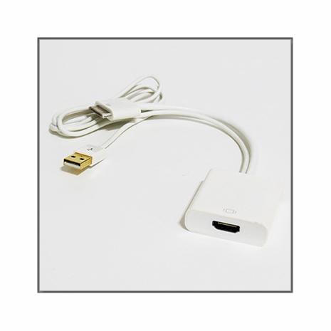 新款Apple 30pin (公) 轉HDMI (母) 自帶USB充電型影音傳輸轉接器