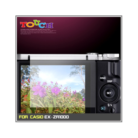CASIO EX-ZR1000專用高透防刮無痕螢幕保護貼