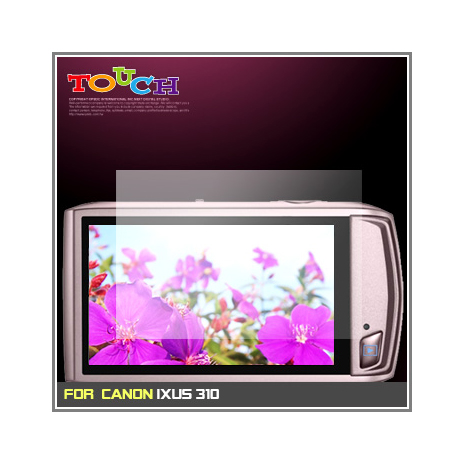 CANON IXUS 310專用高透防刮無痕螢幕保護貼
