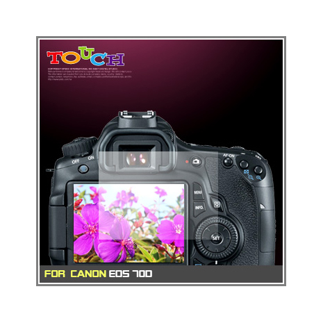 CANON EOS 70D專用高透防刮無痕螢幕保護貼