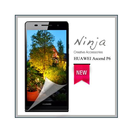 【東京御用Ninja】HUAWEI Ascend P6專用高透防刮無痕螢幕保護貼