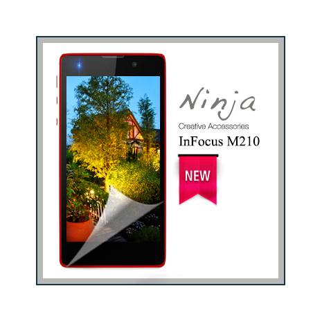 【東京御用Ninja】InFocus M210專用高透防刮無痕螢幕保護貼