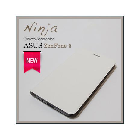 【東京御用Ninja】新款ASUS ZenFone 5經典瘋馬紋保護皮套(白色)