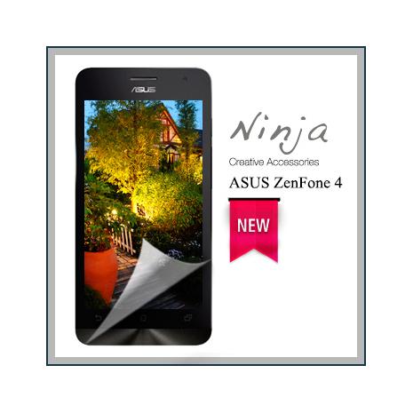 【東京御用Ninja】ASUS ZenFone 4專用高透防刮無痕螢幕保護貼