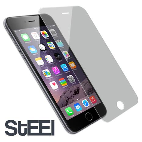 STEEL iPhone 6耐磨防刮亮面鍍膜超薄防護貼