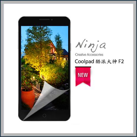 【東京御用Ninja】Coolpad 酷派大神 F2專用高透防刮無痕螢幕保護貼